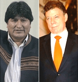 Bolivia entregó presidencia de la CAN a Colombia