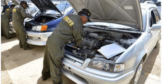Aduana programa 90% de vehículos indocumentados a un mes del cierre del Programa de Saneamiento Legal
