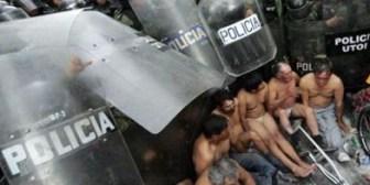 Gobierno de Ecuador condena represión policial a personas con discapacidad