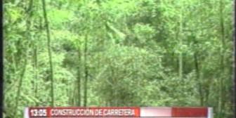 Construcción de carretera, denuncian que el Gobierno busca neutralizar movilización indígena