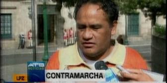 IX marcha. Organizaciones preparan contramarcha y el MAS teme acciones contra el Gobierno