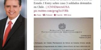 Bolivia recurre a EEUU y moviliza tropas