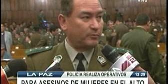 Policía investiga asesinatos violentos de mujeres en El Alto