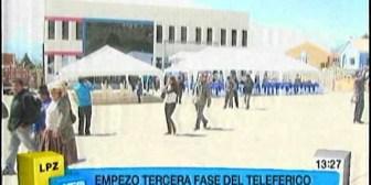 Teleférico. YPFB cede terrenos para construcción de estación, la Alcaldía paceña mantiene cuestionamientos