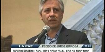 García: Tuto hace un show político deprimente y de mala calidad