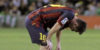 Messi no jugará 6 semanas