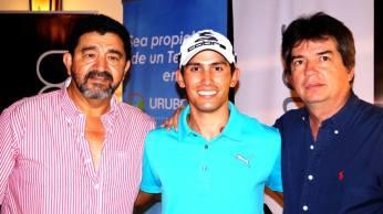 Pepelucho Durán, Sebastián MacLean y Alberto Landívar