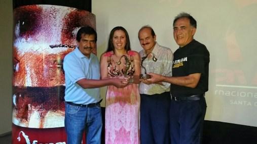 Alejandro Fuentes, Yovinka Arredondo, Elias Serrano, Paz Padilla
