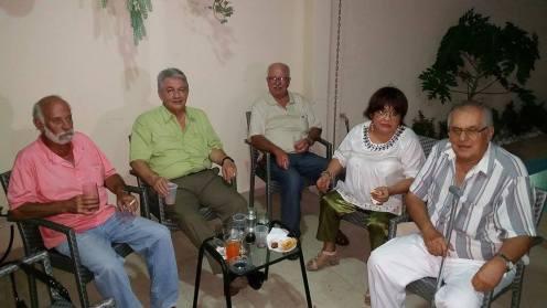 Charly Antelo, Chocho Parada, Luis Enrique Parada, Mosita Pedriel, Efrain Capobianco, Malena Durán