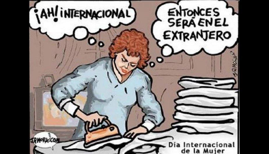 Memes por el Día Internacional de la Mujer. (Foto Google) (2 de 8)
