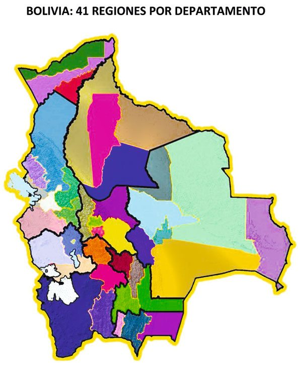 Bolivia cuenta con 41 regiones productivas  ejutv