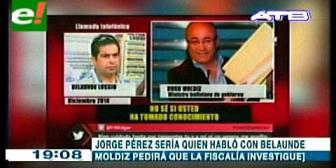 Ex viceministro Jorge Pérez en la mira: es aludido en los casos Belaunde y Sejas