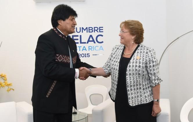 Evo afirma que Chile tiene interés en hacer acuerdos energéticos y de litio