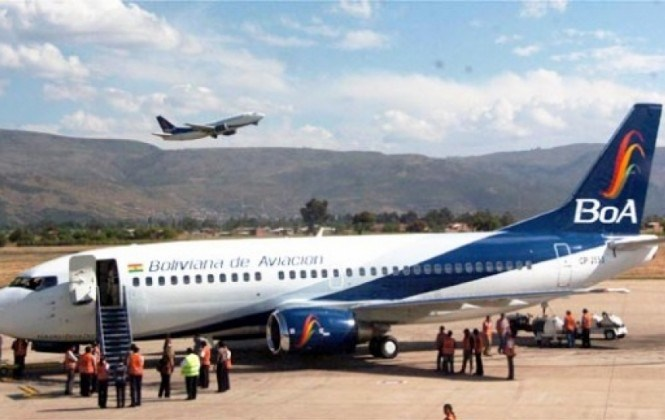 Avión de BOA aterriza de emergencia en Bogotá