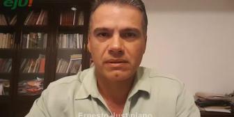 Ernesto Justiniano: ¿Por qué en Santa Cruz debemos votar No en el próximo referéndum?