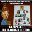 Memes de García Linera con organigramas