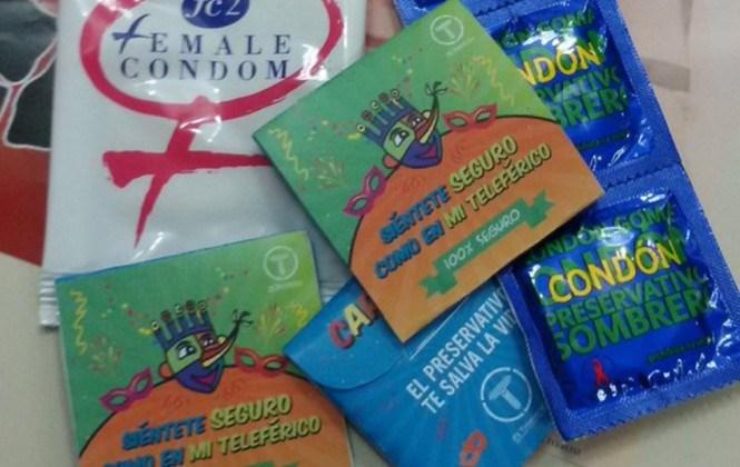 Mi Teleférico repartirá 20 mil condones para prevenir enfermedades en carnaval
