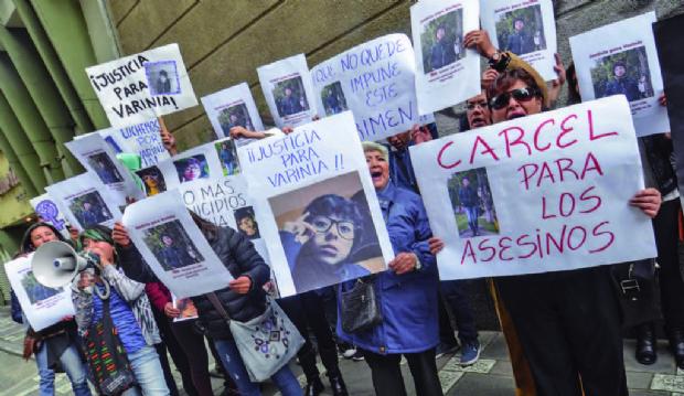 Fiscal imputó a la expareja de Varinia por cuatro indicios
