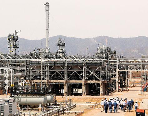 Margarita. La exportación de gas natural es una de las principales fuentes de ingreso del Estado.