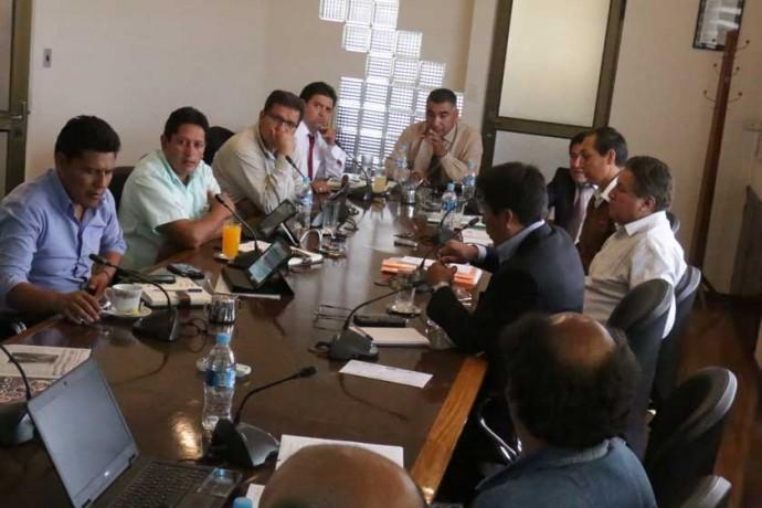DIRECTORIO. Los representantes de las tres copropietarias públicas de FANCESA se reunieron ayer durante casi ocho horas.
