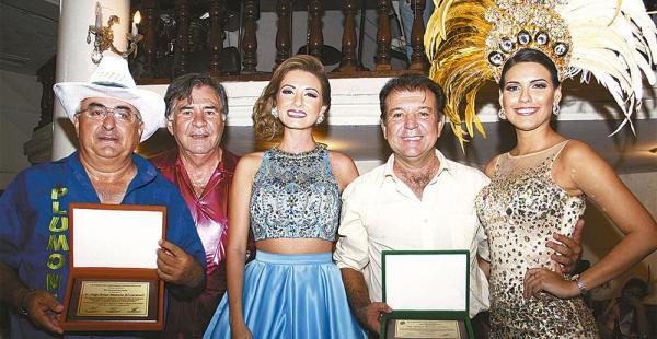 José Carlos Chávez, Bismarck Kreidler, Valeria I, Joaquín Banegas y la reina de los Chabacos, Joselin Toro