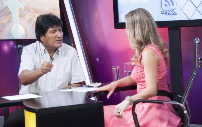 Evo Morales evaluará la expulsión del encargado de negocios de la Embajada de EEUU
