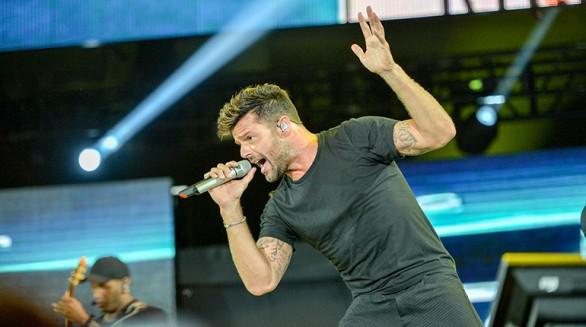 Hoy se sabrá si el cantante Ricky Martin ofrecerá dos conciertos en Bolivia en abril. - Afp Agencia