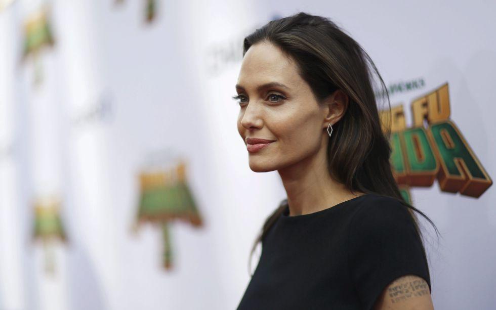 Angelina Jolie, en un estreno en Hollywood a principios del mes de enero.