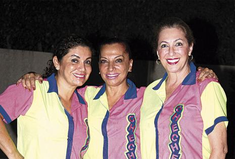 Carmen Lima, Maggie Madde y Patricia Londoño se fueron con sus casacas