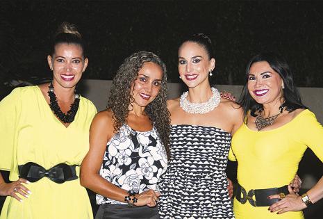 Eliane Ugarte, Darling Flores (dueña de casa), Georgina Leigue y Lili Áñez