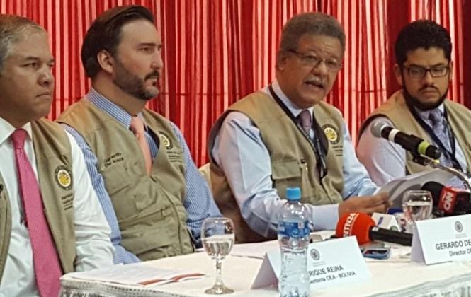 Misión de Observación de la OEA recomienda una auditoría profunda e integral del padrón