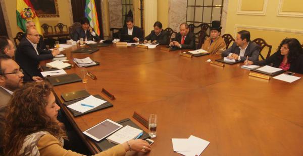 El gabinete del presidente Evo Morales seguirá acompañándolo en el inicio de una nueva gestión gubernamental
