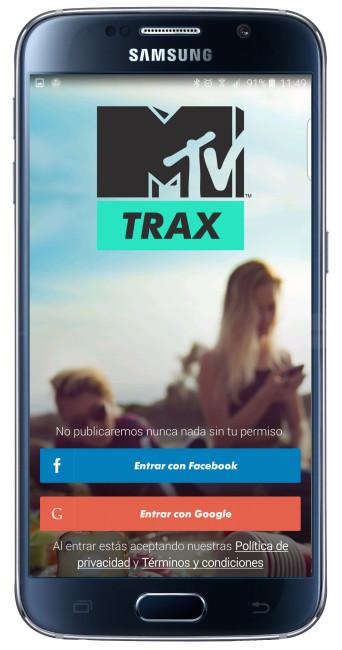 Inicio MTV Trax