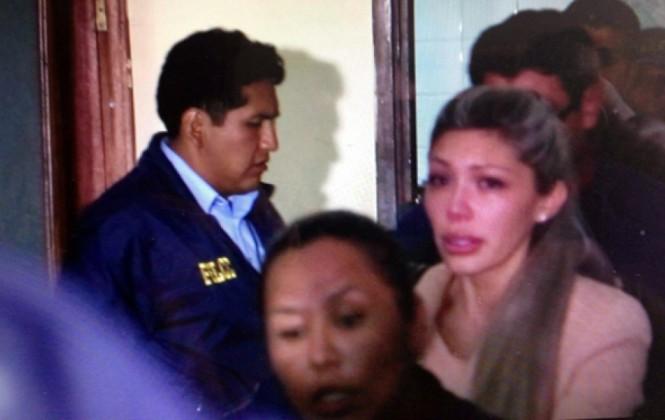 Justicia envía a la cárcel a Gabriela Zapata