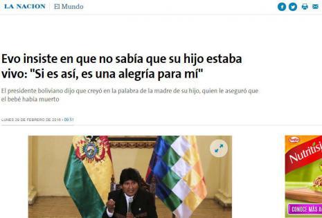 Evo La Nación