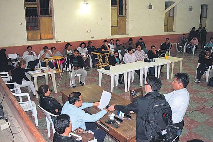 CUESTIONAMIENTOS. 13 acusados del caso 24 de Mayo recibieron sentencia en Padilla.