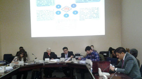 Miembros de la Comisión Multipartidaria analizan contratos entre YPFB y CAMC