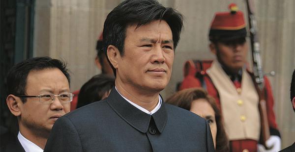 El embajador de China, Wu Yunshan, fue denunciado