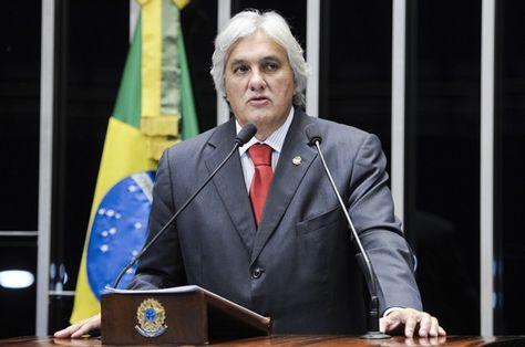 Delcidio Amaral, exjefe del oficialismo en el Senado brasileño. Foto: g1.globo.com