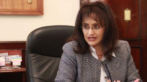 La ministra de Transparencia, Lenny Valdivia