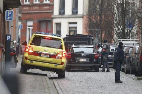 Extrema seguridad en Francia tras los atentados de Bruselas. Foto: EFE