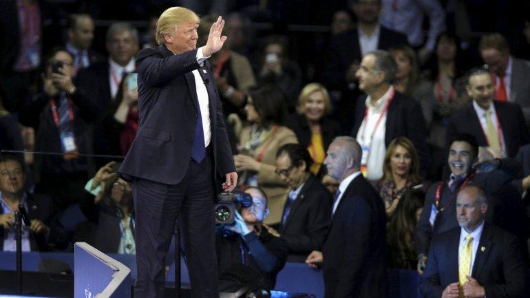 Donald Trump estuvo presente en el AIPAC