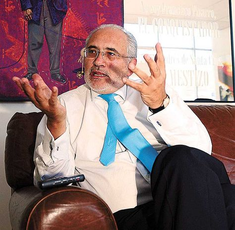 El expresidente Carlos Mesa. Foto: Alejandra Rocabado-Archivo