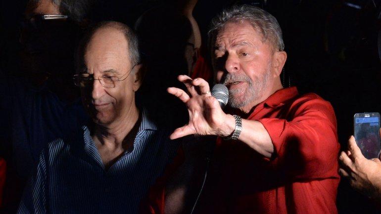 Lula da Silva arremetió contra la prensa de su país