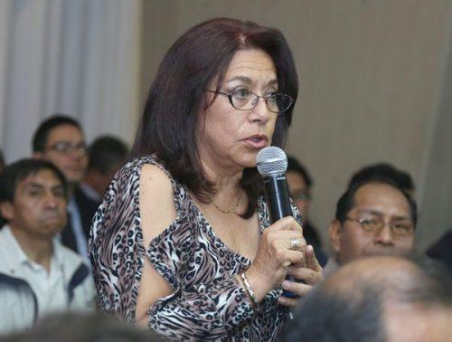 ANA MARÍA SOLARES GAITÉ, EXVICEMINISTRA DE RELACIONES ECONÓMICAS INTERNACIONALES DE LA CANCILLERÍA.
