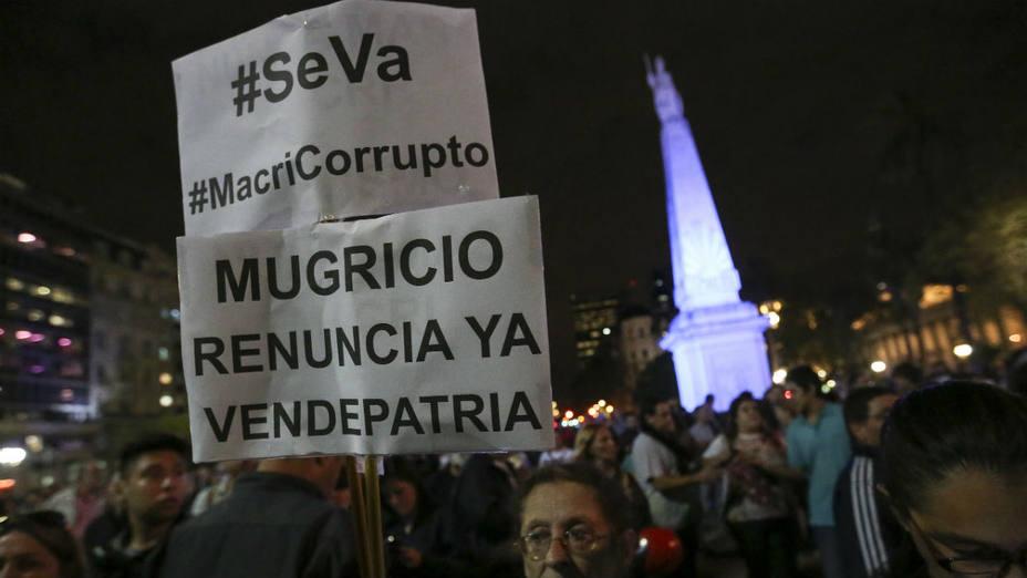 Los Panamá Papers revelaron que Macri fue vicepresidente y director de la sociedad Flag Trading Ltd. EFE