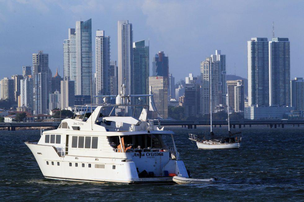 El distrito financiero de Ciudad de Panamá