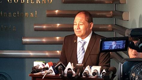 El ministro de Gobierno, Carlos Romero, habla sobre el caso Wálter Chávez