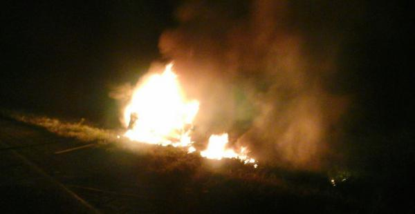 Un grave accidente ocurrió en la carretera Santa Cruz- Puerto Suárez, a la altura de Tres Cruces