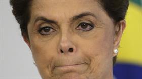 La presidenta de Brasil, Dilma Rousseff, en un acto el pasado viernes